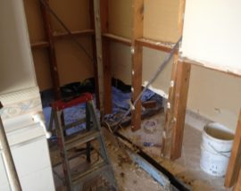 Bathroom-water-damage-North-Haven