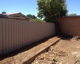 New-Colorbond-fence-Plympton
